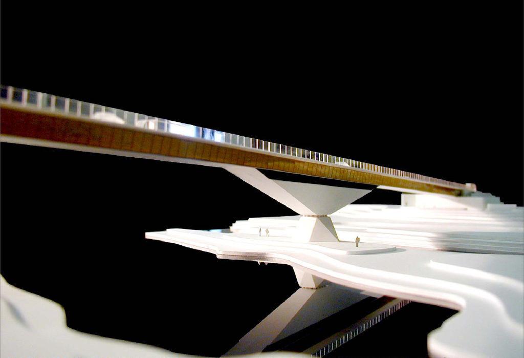 Model of the bridge