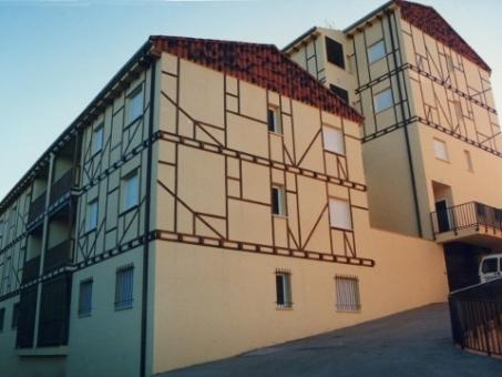 Houses in Hervas