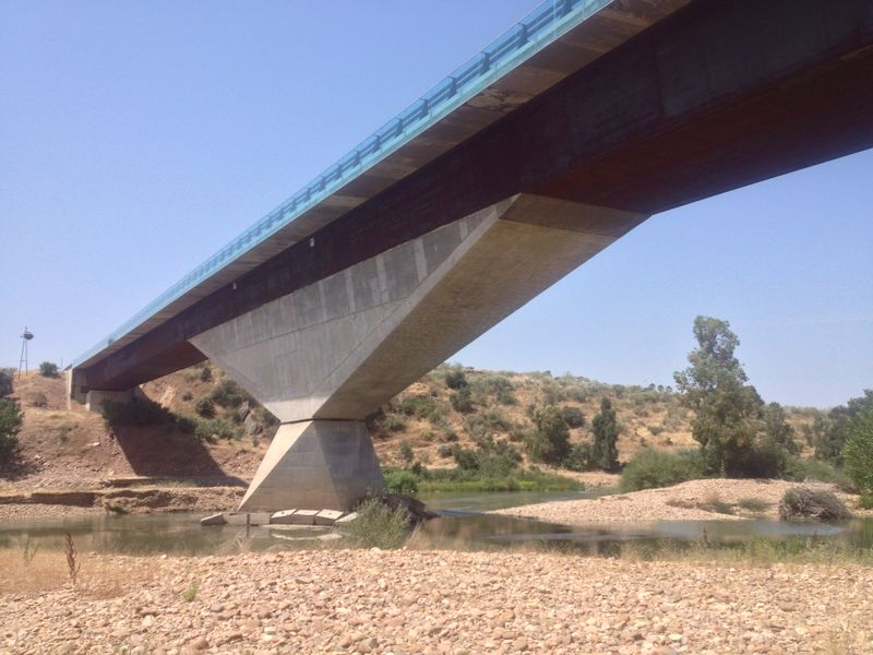 "Visit Bridge ""Guadiana"""