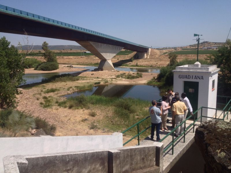 Visit Bridge Guadiana