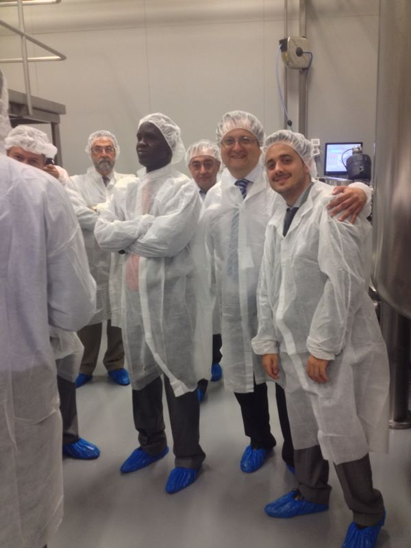 Visit to a Drug Factory